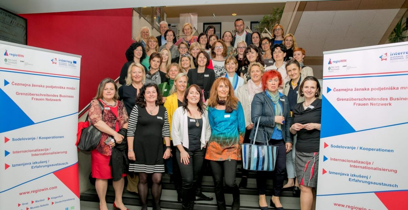 EU Interreg Projekt regioWIN Business Frauen Center